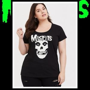 NIP TORRID Misfits Skull Plus Size Tee